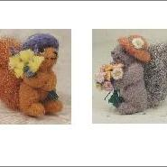 NEW Original Greeting Card Say it with Flowers  Set of 4