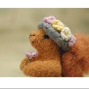 Notecards   SPRING SQUIRREL  set of 4