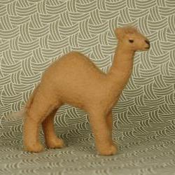 Miniature Fabric Baby Camel